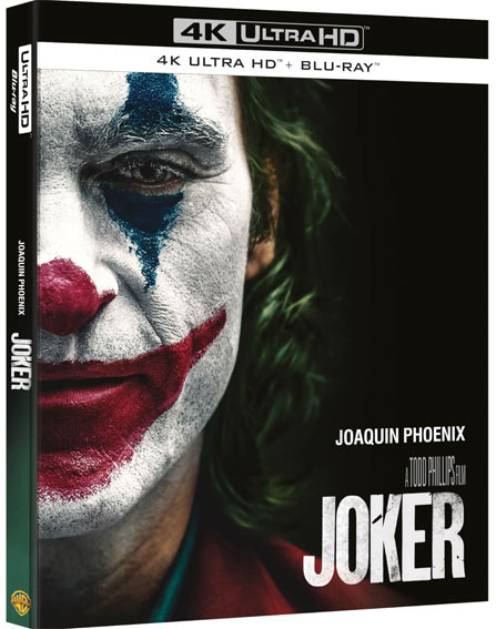 Joker Blu ray 4K Ultra HD steelbook edition collector