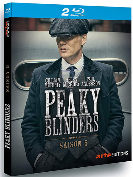 Peaky Blinder saison 5 Coffret integrale Blu ray DVD