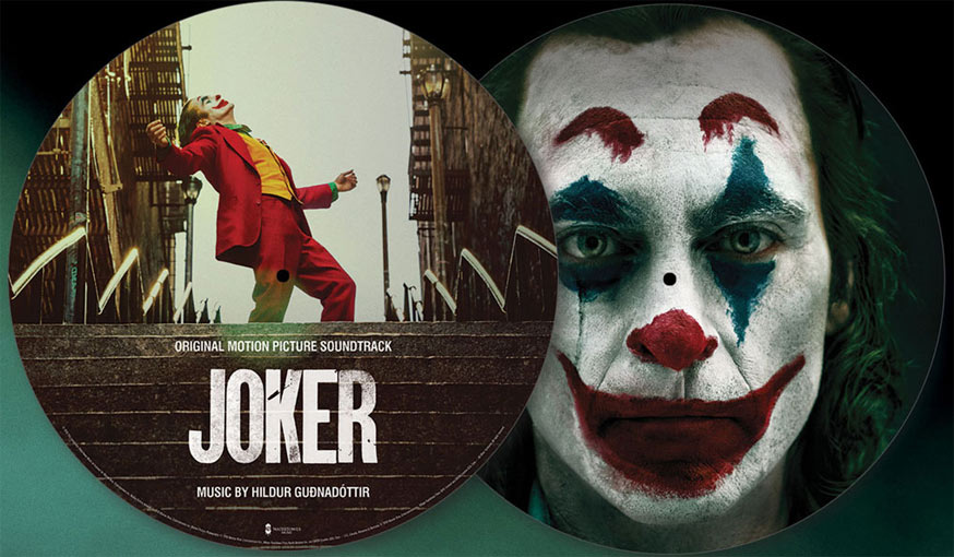 joker vinyle LP OST Soundtrack edition picture disc