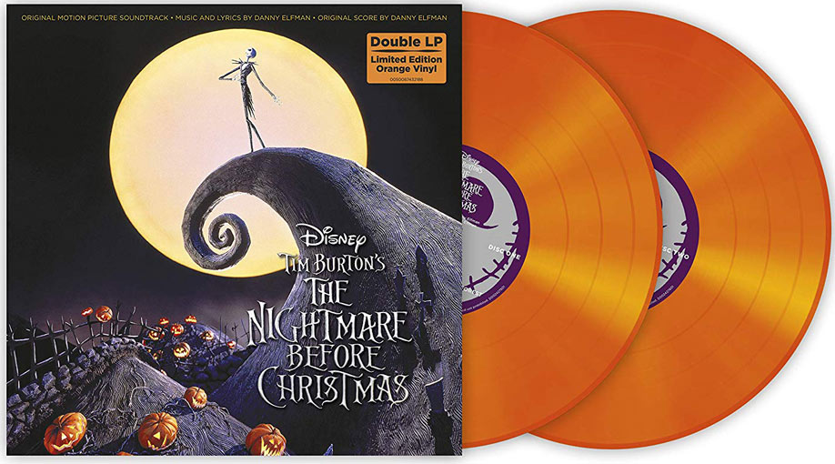 night before christmas double vinyle edition limitee ost etrange noel de mr jack