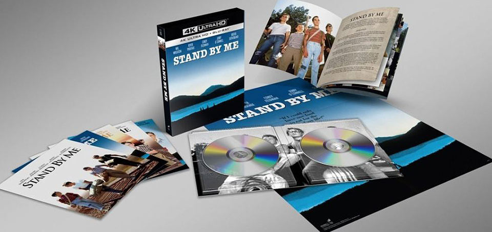 stand by me coffret Blu ray 4K Ultra HD