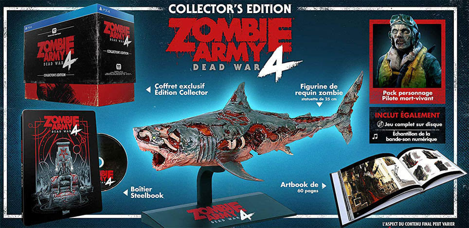 zombie army dead war 4 steelbook coffret collector requin