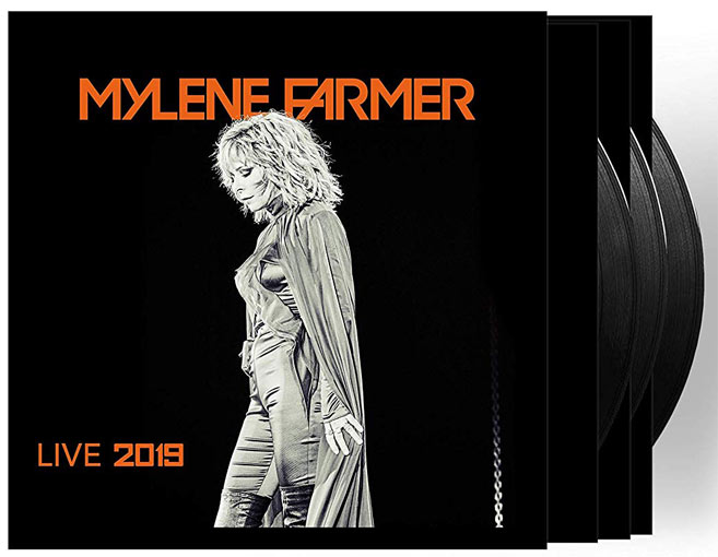 Mylene Farmer live 2019 coffret deluxe Triple Vinyle CD