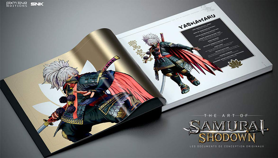 artbook samourai shodown livre collection