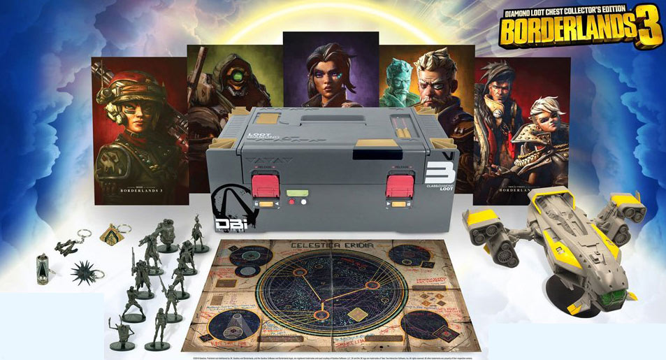 borderlands 3 coffret collector jeux video