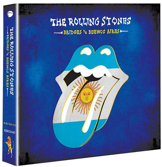 Live rolling stones bridges to buenos aires CD DVD Blu ray