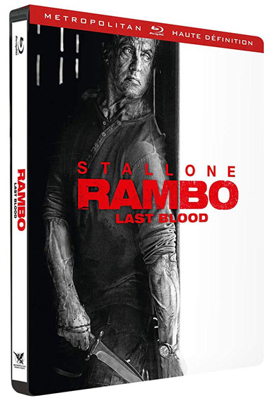 Steelbook rambo last blood Blu ray 4K RAMBO 5