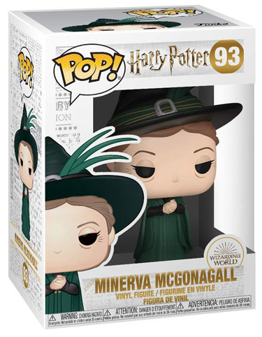 Funko pop minerva mcgonagall Harry Potter noel 2019