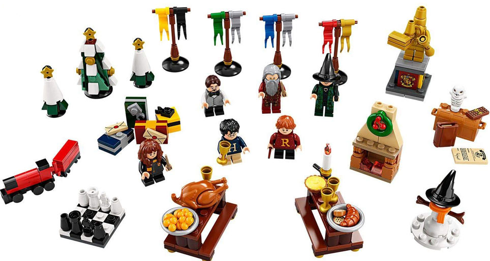 achat calendrier avent noel 2019 lego harry potter