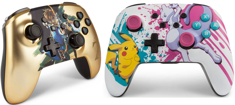 manette console nintendo switch collector noel 2019
