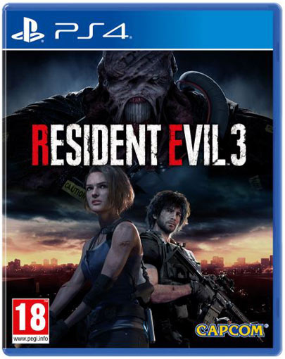 resident evil 3 PS4 Xbox One