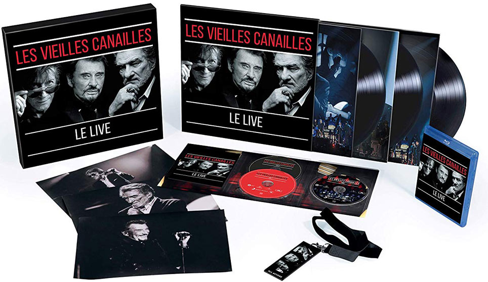 vielle canaille coffret collector Live edition limitee