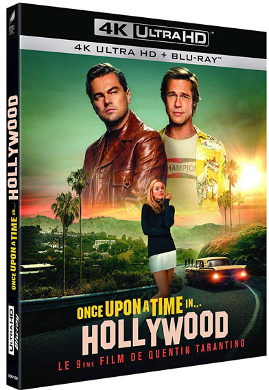 Once upon a time in Hollywood Blu ray 4K UHD DVD