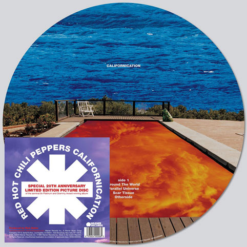 Red hot picture disc californication Vinyl lp