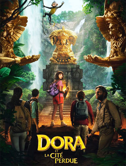 film dora exploratrice cite perdue Blu ray DVD 2019