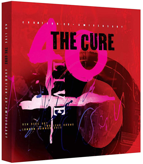 the cure 40 live Curaetion coffret blu ray cd 25 anniversary 25th