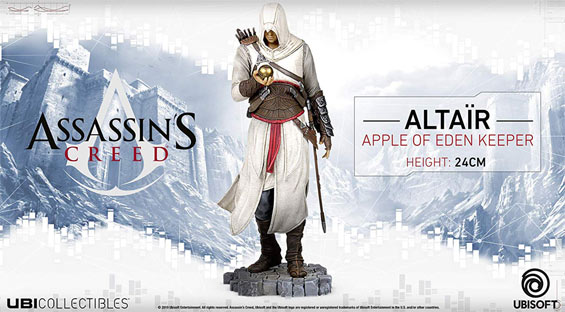 altair eden apple keeper figurine ubicollectibles