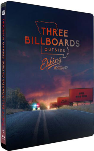 3 billboards steelbookc ollector Blu ray