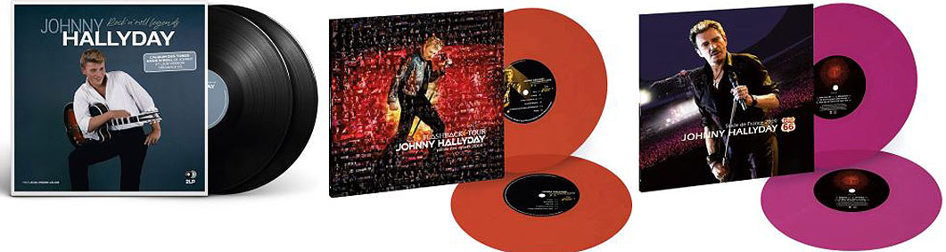 johnny edition limitee double vinyle coloree