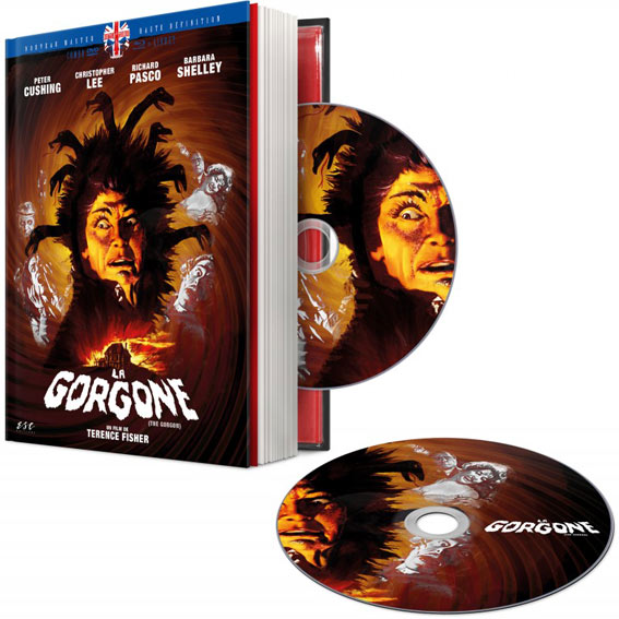 la gorgone edition collector limitee esc terence fisher Blu ray DVD