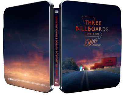 three billboards collection steelbook edtion limitee