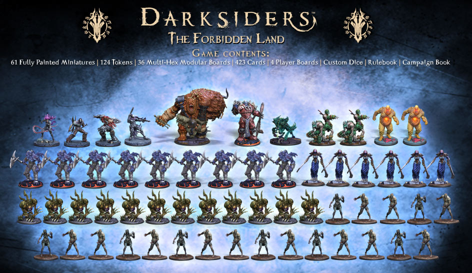darksiders genesis forbidden land jeu collector