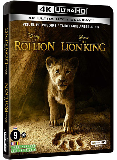le roi lion blu ray 4K ultra HD