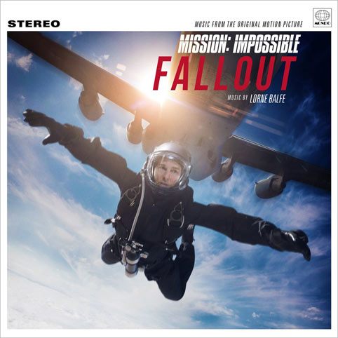 mission impossible fallout Vinyle LP OST soundtrack