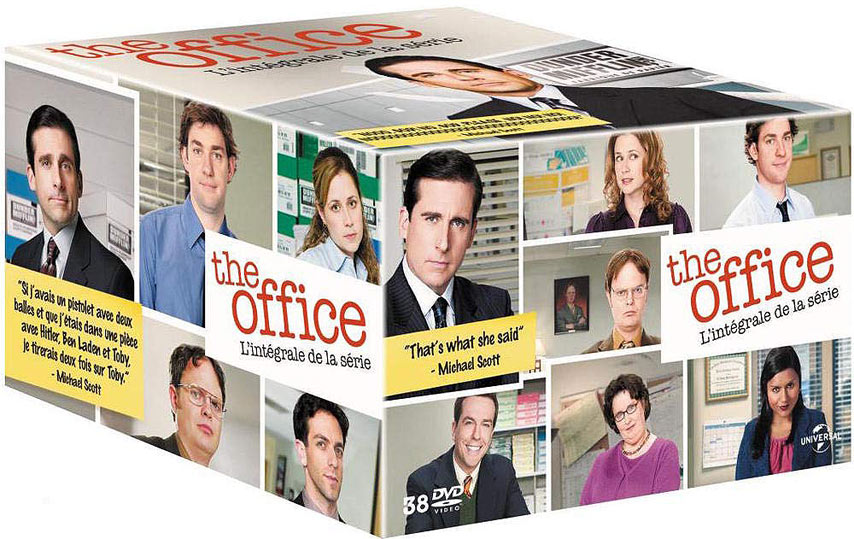 Coffret integrale DVD the Office edition francaise FR serie tv