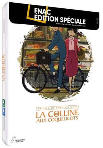 Colline aux Coquelicots steelbook collector bluray DVD studio ghibli collection fnac 2019