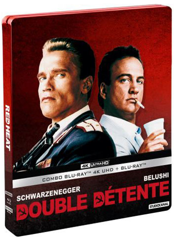 Double Detente steelbook 4K edition collector Blu ray