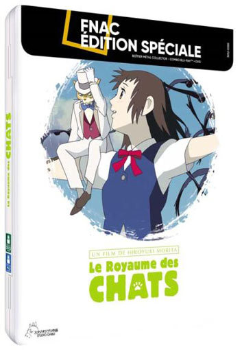 Le Royaume des Chats steelbook collector Blu ray DVD anime ghibli