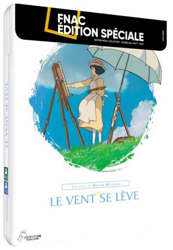 Le Vent se leve steelbook collector Blu ray DVD edition limitee
