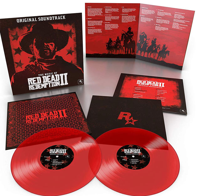OST red dead redemption 2 coffret collector Vinyle LP rouge