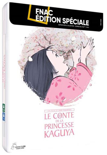 Princesse Kaguya steelbook collector Blu ray DVD studio ghibli