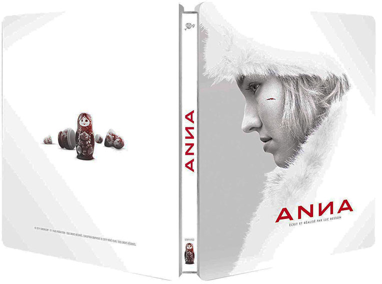 Steelbook Besson Anna Blu ray