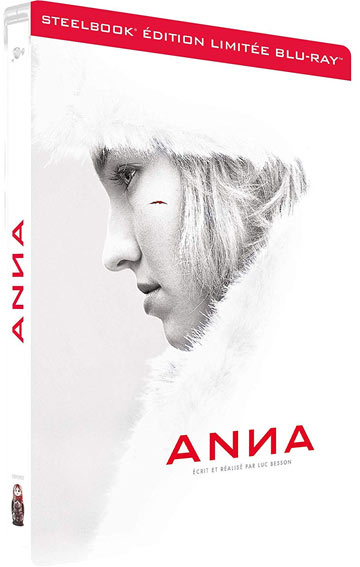 Steelbook collector anna Blu ray edition limitee Besson