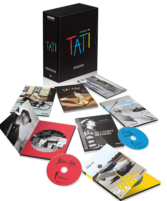 Tati coffret integrale DVD Blu ray
