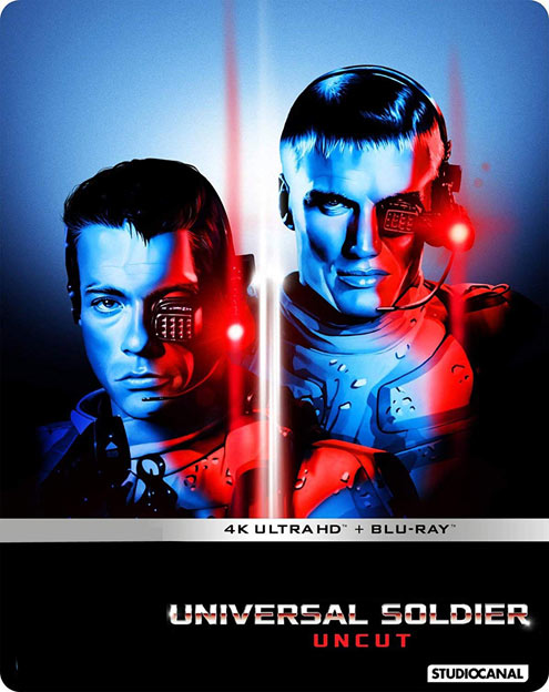 Universal soldier steelbook collector 4K