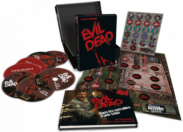 coffret integrale evil dead 1 2 3 edition ultime blu ray 4k 2020