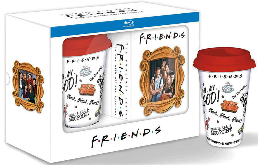 coffret integrale friends serie Blu ray DVD mug tasse 25 anniversaire 25th anniversary