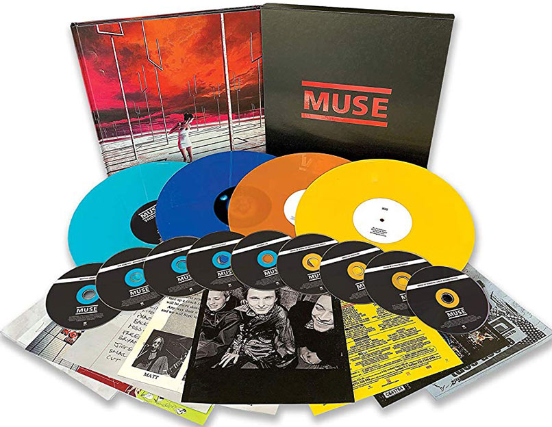 coffret muse origin of muse Vinyle LP CD collector edition