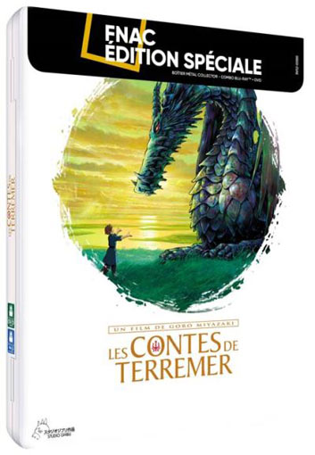 contes de terremer steelbook collector edition collector limitee bluray dvd