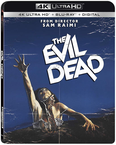 evil dead Blu ray 4K Ultra HD