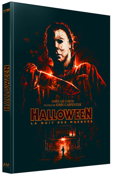 halloween edition collector limitee Blu ray DVD 4K 40 anniversaire