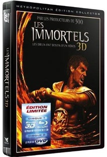 les immortels steelbook blu ray edition limitee