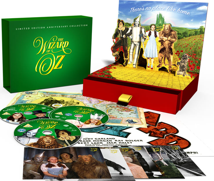 magicien oz coffret collector Blu ray 4K DVD pop up 2019