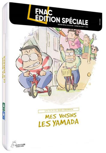 mes voisins les yamada steelbook collector Blu ray DVD