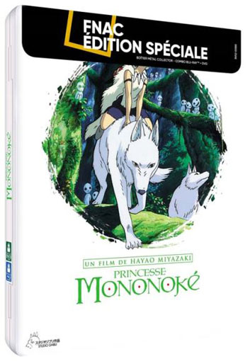 princesse mononoke Steelbook collector Blu ray DVD boitier metal 2019