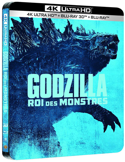 steelbook godzilla collector 2019 Blu ray 4K UHD ultra HD